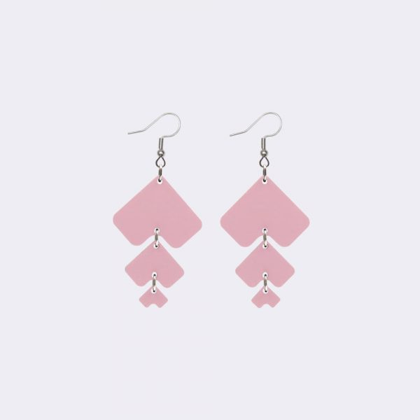 Laav Collection Ystävät pinkki korvakorut